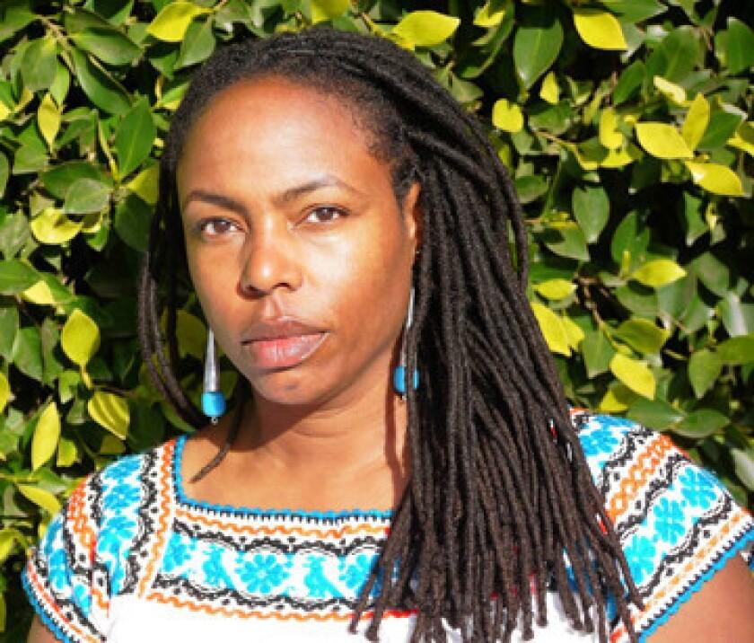 Author Dana Johnson.
