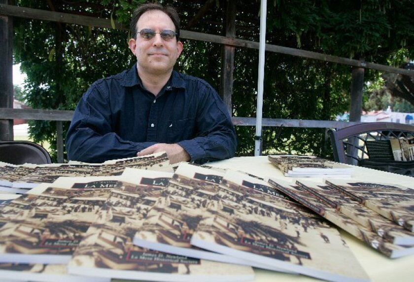 """Jim Newland, author of """"Images of America: La Mesa,"""" held a book signing at the La Mesa Historical Society in 2010. He is also the author of """"Images of America: Cleveland National Forest."""""""