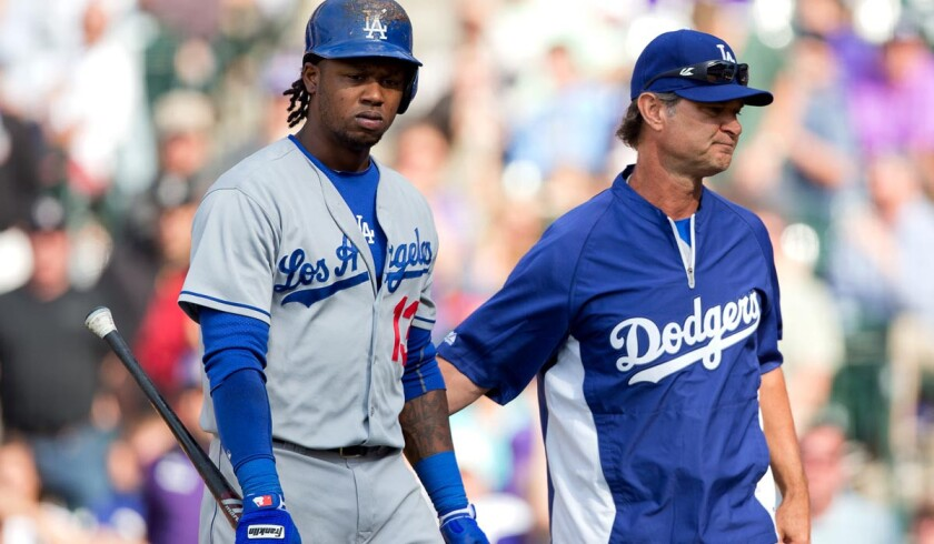 Manager Don Mattingly and the Dodgers could have some big decisions to make if shortstop Hanley Ramirez continues to be plagued by injuries this season. He currently has a sore right shoulder.