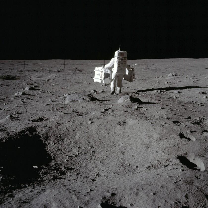 En esta foto del 20 de julio de 1969 proveída por la NASA