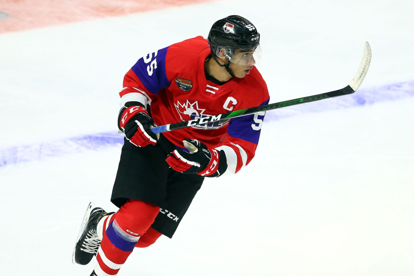 Kings select center Quinton Byfield No. 2 overall in the NHL draft