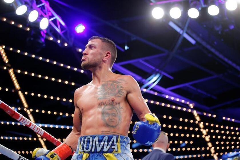 El boxeador ucraniano Vasyl Lomachenko. EFE/Archivo