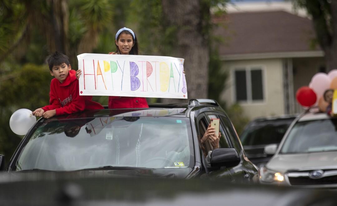 Drive by birthday