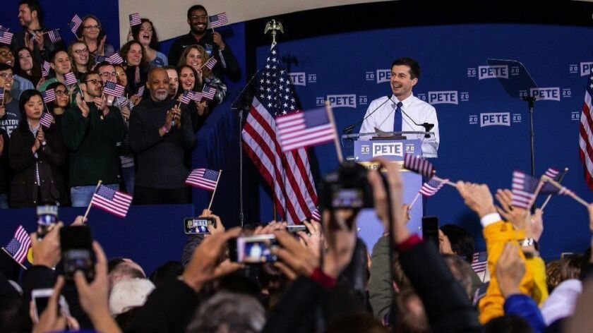 South Bend Mayor Pete Buttigieg announces run for president