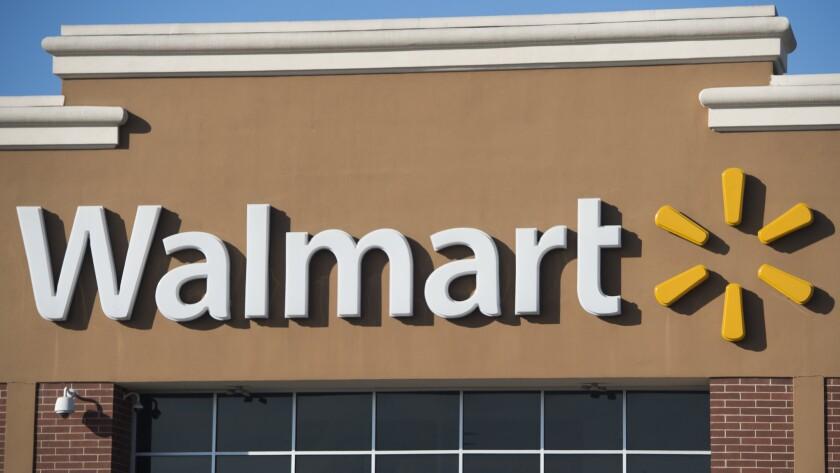 Walmart fire