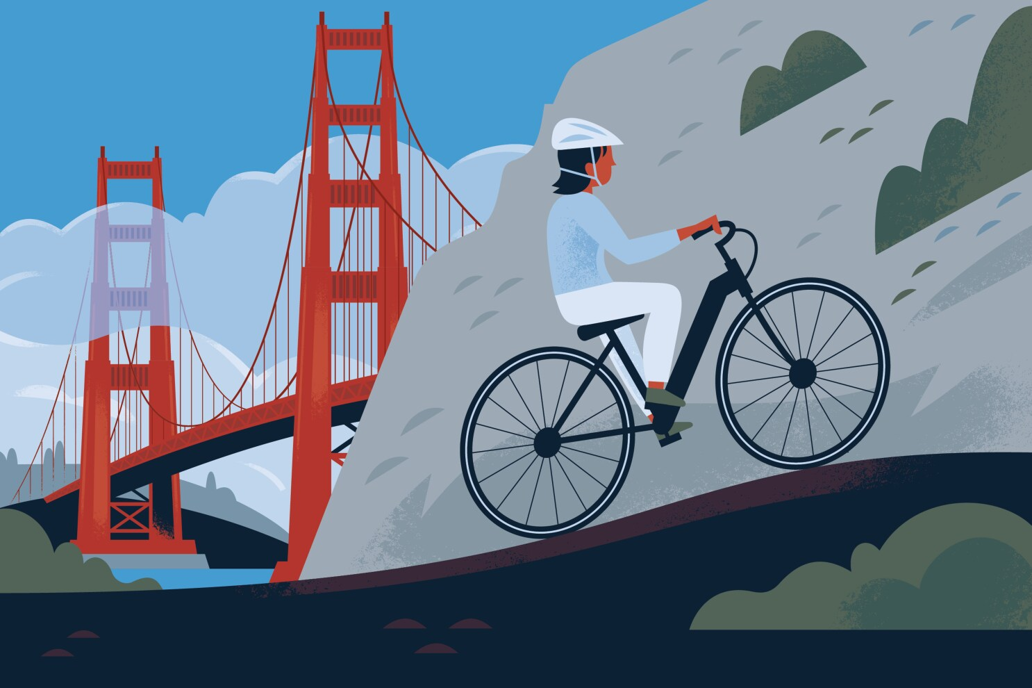 I Had Tons Of Fun Riding An E Bike In A National Park I Also Broke The Law Oops Los Angeles Times