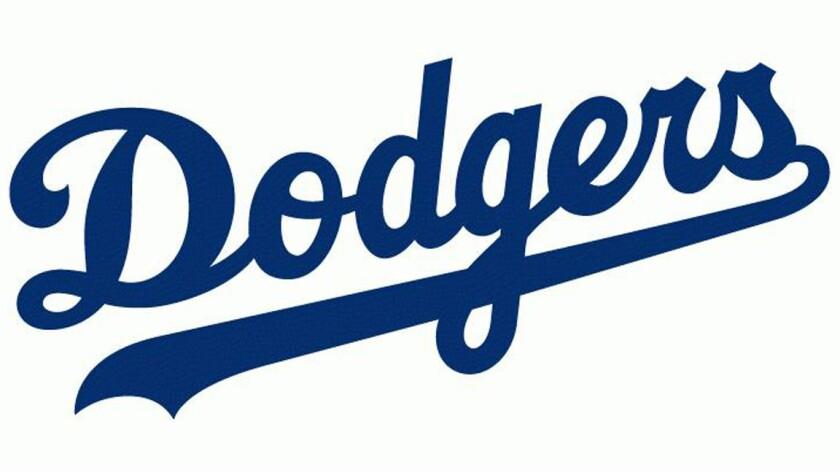 Dodgers logo.