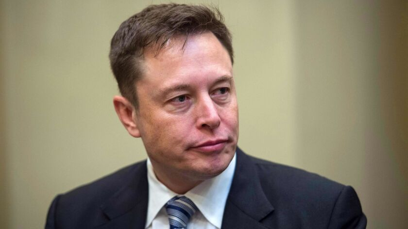 Elon Musk met with the company's board Thursday to tell them he wanted to stay public and the board agreed.