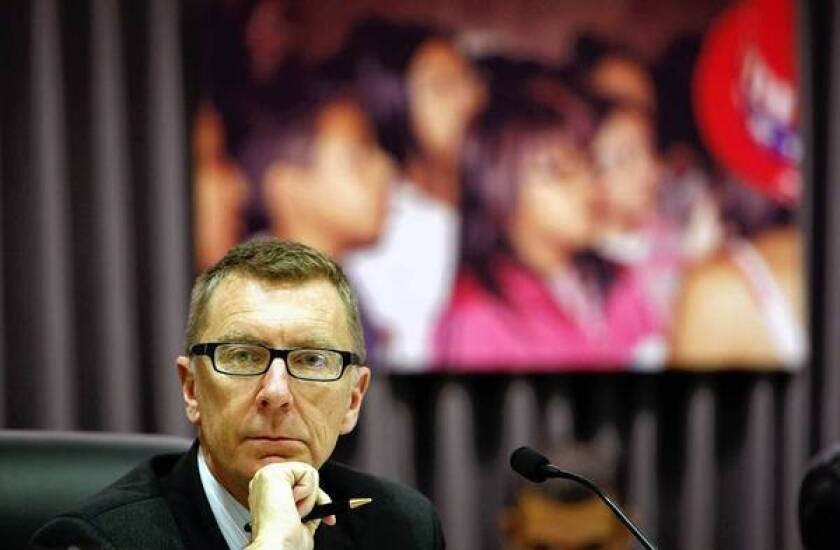 "John Deasy, superintendent of the L.A. Unified School District, called the decision not to pass the teacher-dismissal bill ""shameful."" Teachers unions, on the other hand, had said the bill would have violated due process rights."