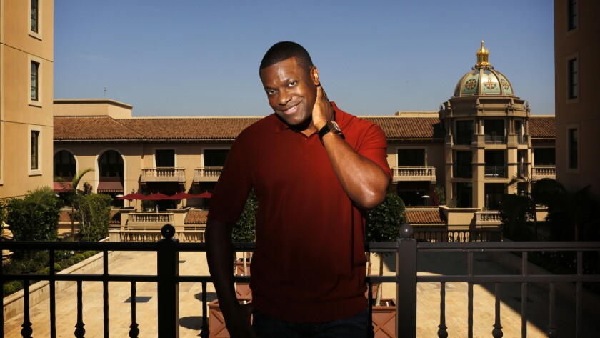 """I started out being a stand-up comedian and eventually wanted to become an actor,"" Chris Tucker says."