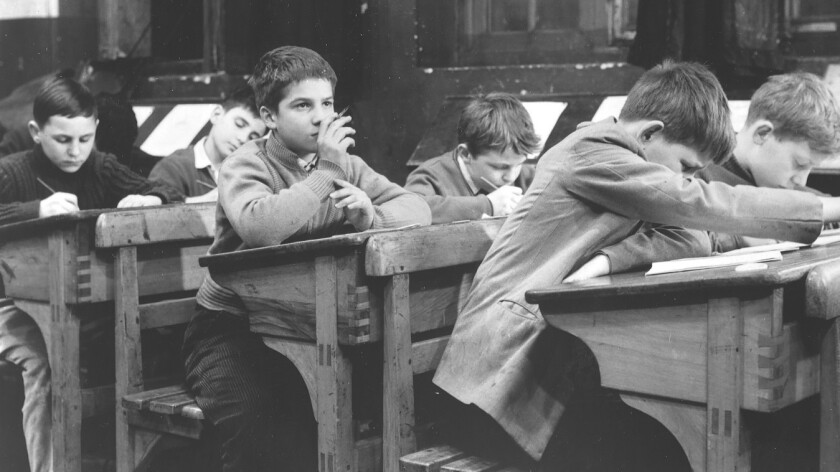 """Jean–Pierre Leaud in """"The 400 Blows."""""""