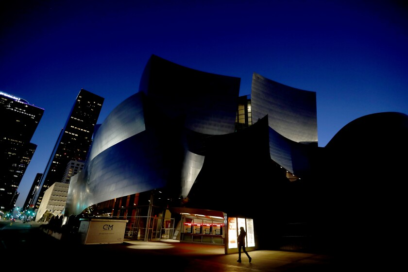 Levy Restaurants is taking over dining operations at DTLA's Music Center, which includes the Walt Disney Concert Hall.