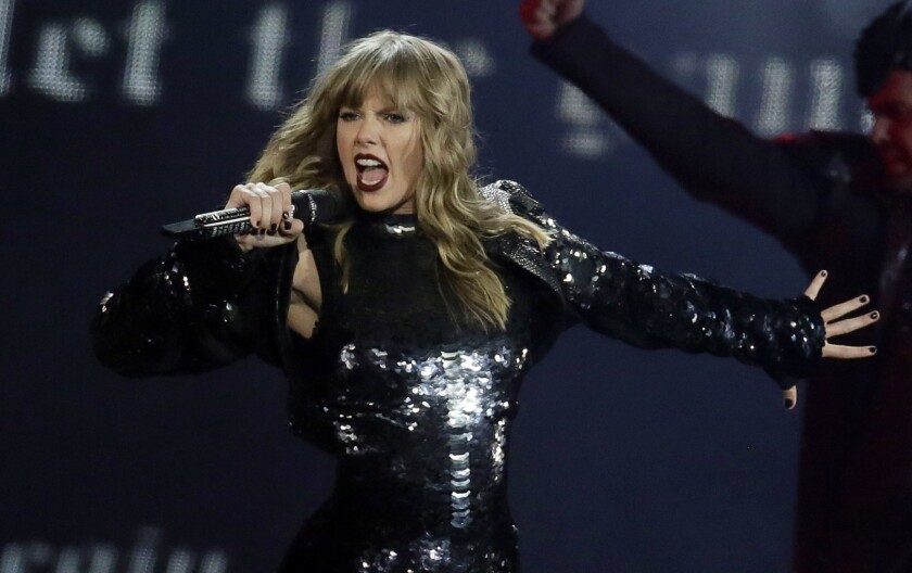 """Taylor Swift is a possible Grammy nominee with her album """"Reputation."""""""