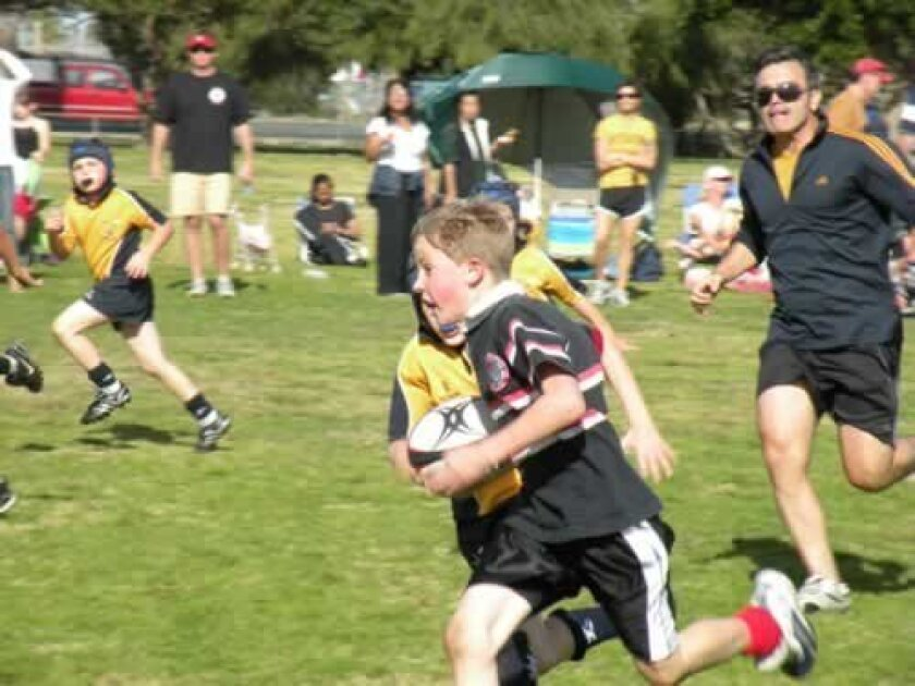San Diego Young Aztecs is seeking particpants age 7-14 for its new La Jolla Youth Rugby program. (Courtesy Photo)