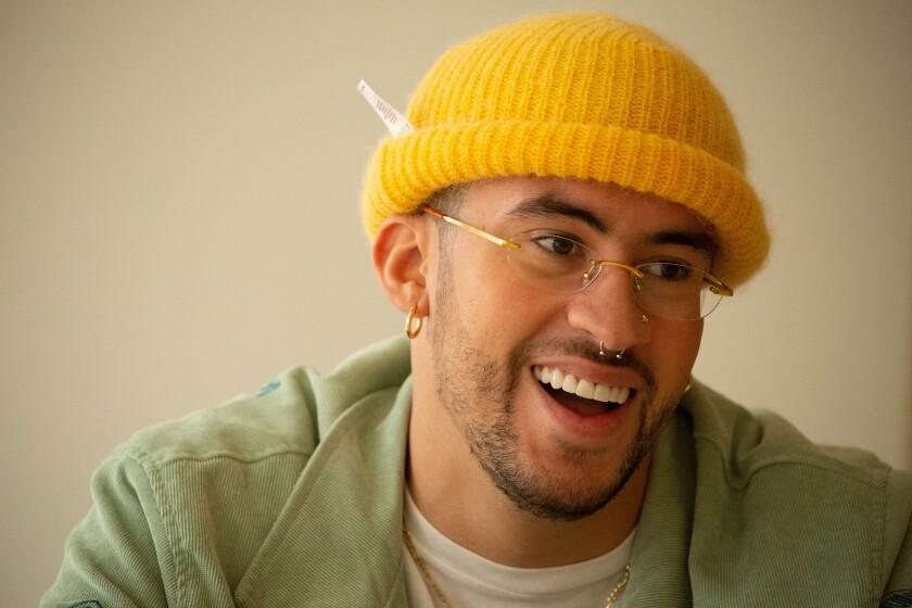 Puerto Rican singer Benito Antonio Martínez Ocasio, a.k.a. Bad Bunny