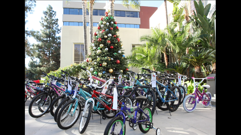 More than 120 bicycles will be donated to local children in need, thanks to a group of volunteers and city employees known as the Burbank Bike Angels.