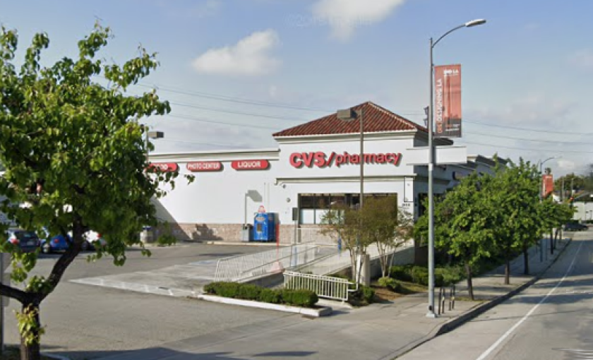 A woman was recorded shouting racial slurs at this Eagle Rock CVS.