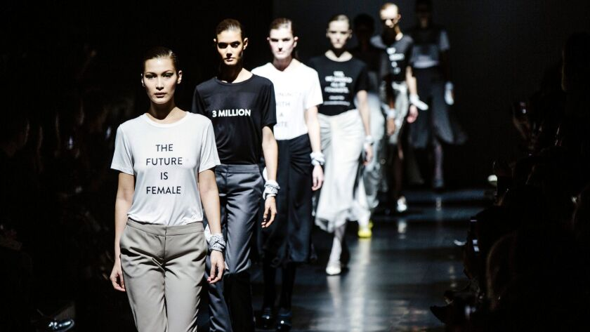 Image result for Fall/Winter 2020 Fashion Trends- Politics, Environment, War and Gender