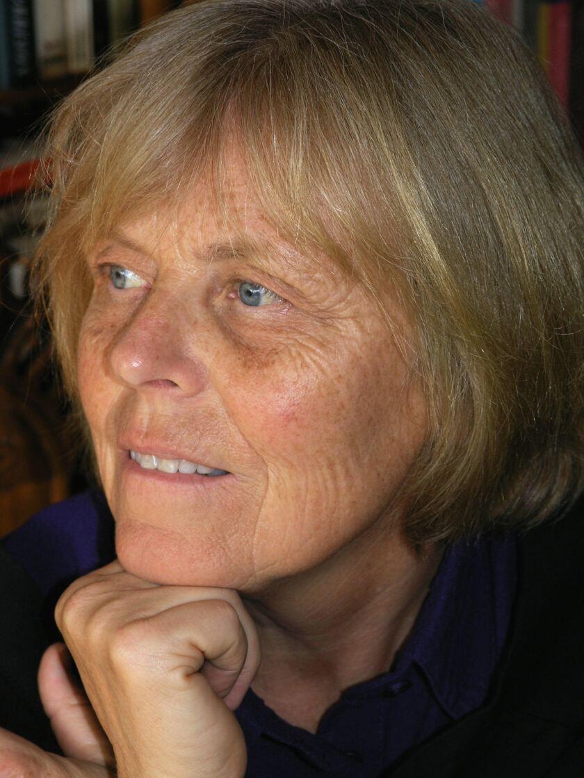 "Ursula Hegi, author of ""The Patron Saint of Pregnant Girls."""