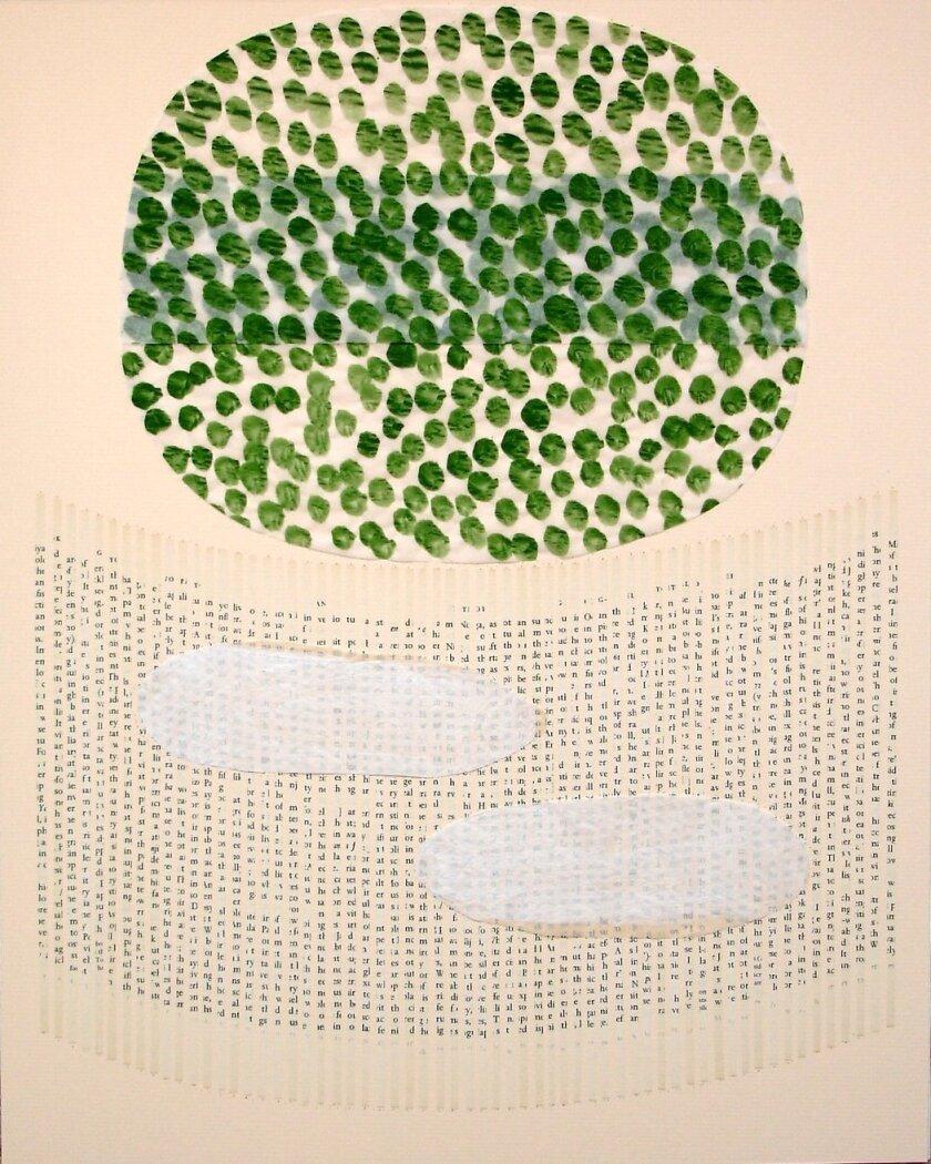 'Alcazar' by Brad Maxey, acrylic on canvas, 2014