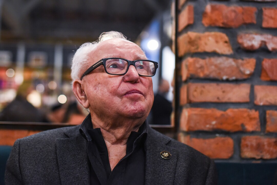 Hakman returned to Poland for the 75th anniversary of the Auschwitz liberation.