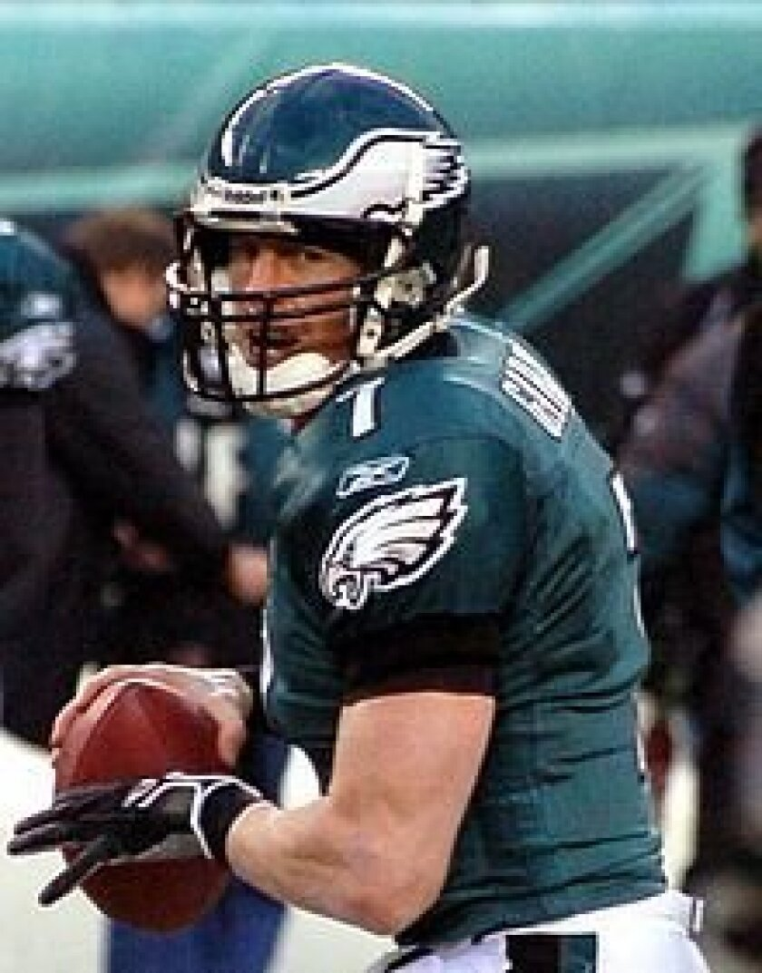 Jeff Garcia played for the Philadelphia Eagles in 2006 and 2009.