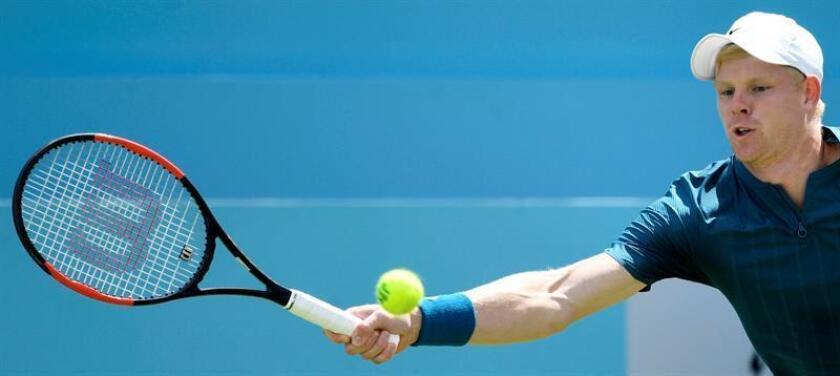 El tenista británico Kyle Edmund. EFE/Archivo