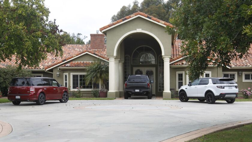 The Poway home of Hall of Famer Tony Gwynn, who died in 2014 and whose widow still resides there, is on the auction block.
