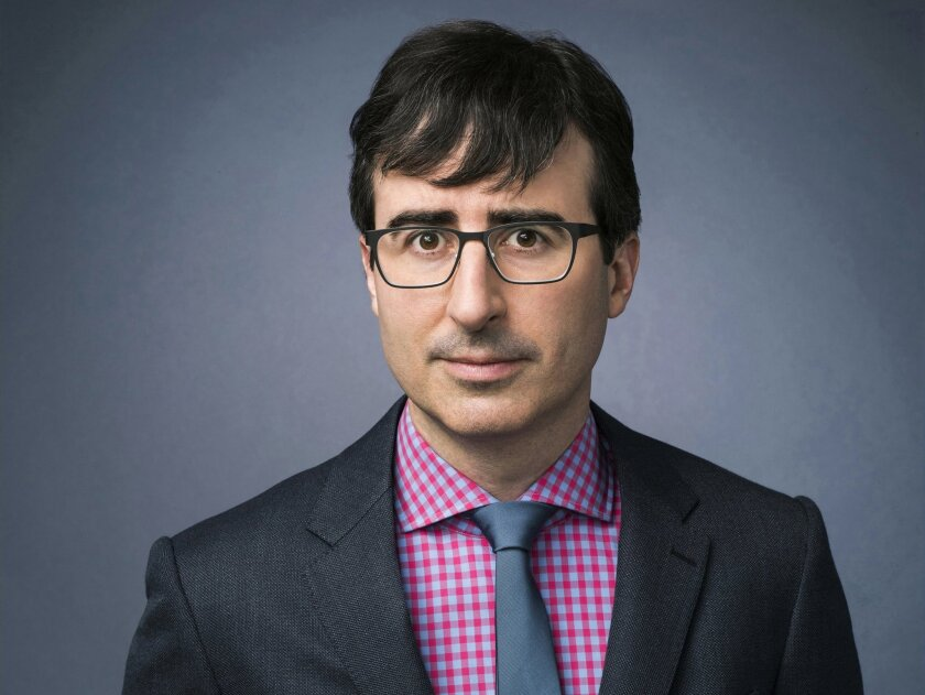 "Comedian John Oliver hosts the HBO series ""Last Week Tonight."""