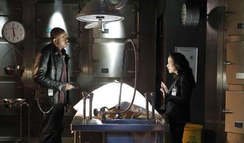 """A scene from from an episode of """"Criminal Minds"""" titled """"One Shot Kill."""""""