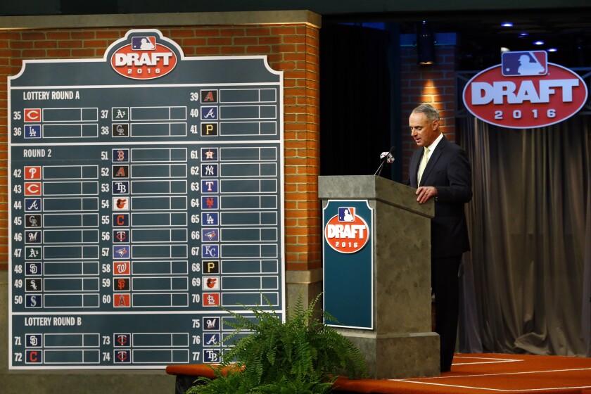 Amateur Draft Baseball