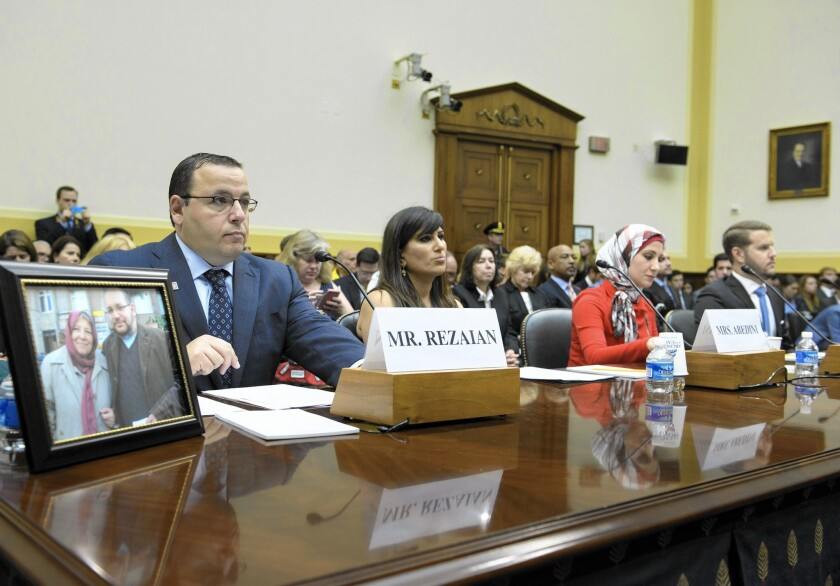 Relatives of U.S. captives in Iran attend hearing