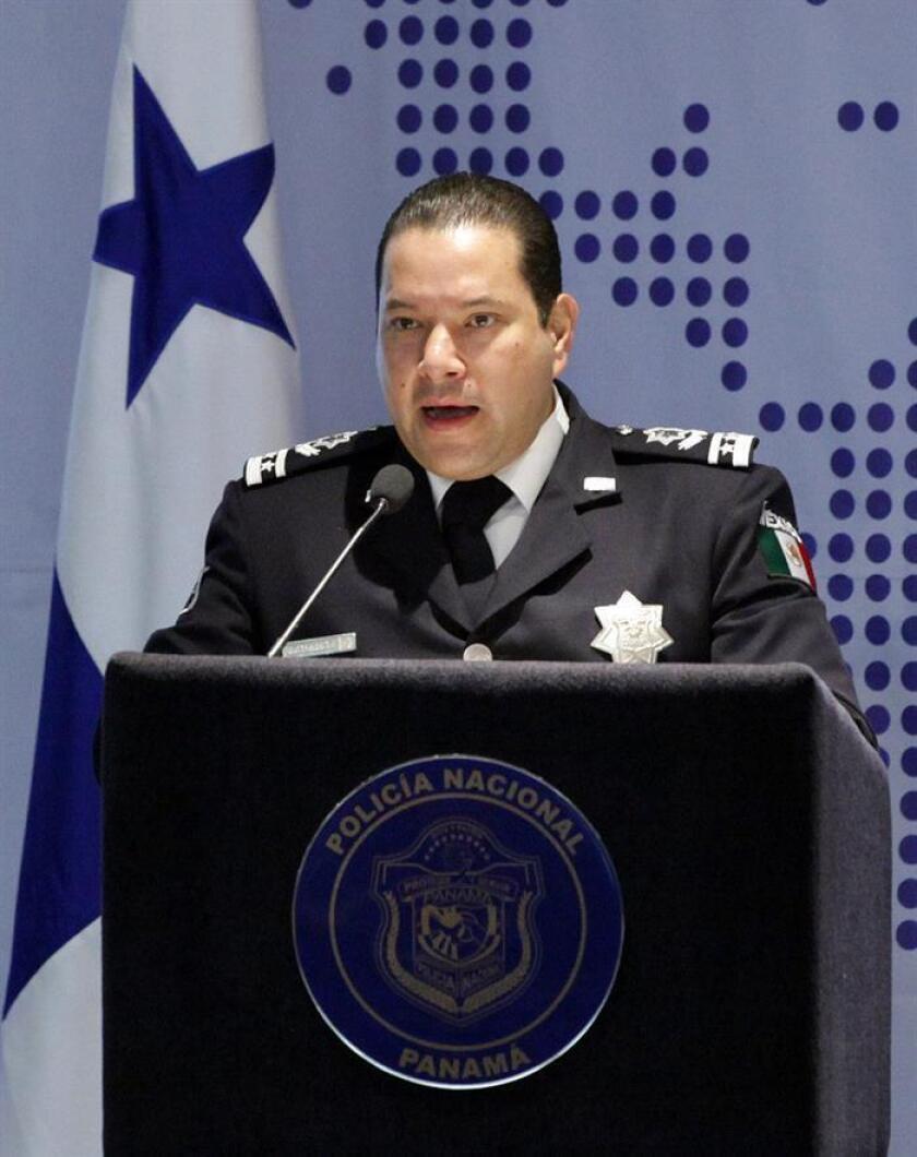 México atendió más de 200.000 incidentes cibernéticos y neutralizó más de 16.000 sitios apócrifos desde 2012 a la fecha, reveló hoy el titular de la Comisión Nacional de Seguridad (CNS), Manelich Castilla (imagen). EFE/ARCHIVO