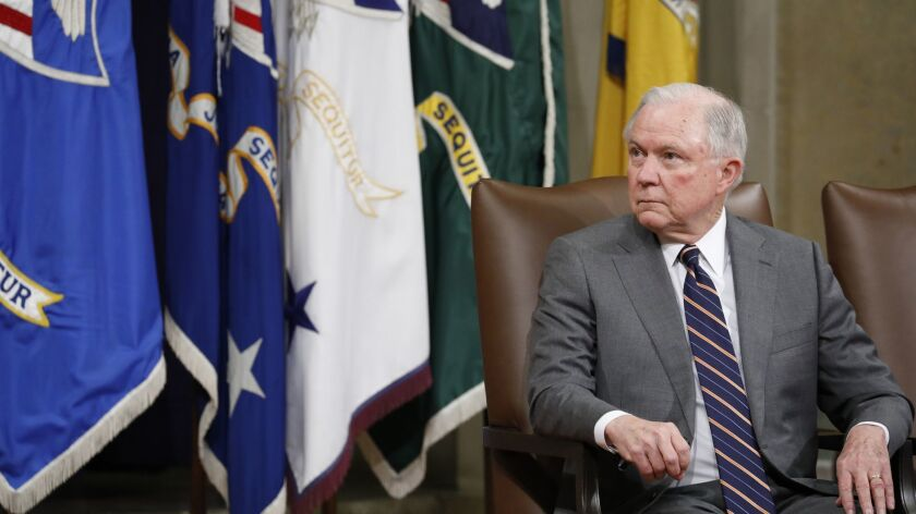 Attorney General Jeff Sessions Discusses Free Speech And Campus Culture