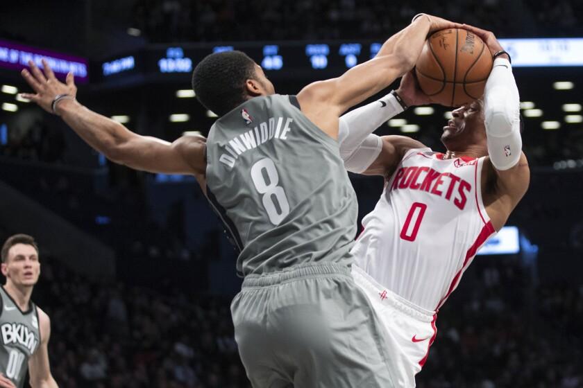 Rockets Nets Basketball