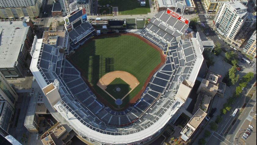 Petco Park, home to the San Diego Padres opened in 2004.