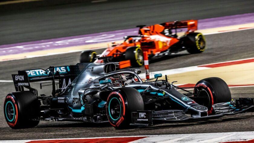 Bahrain Formula One Grand Prix, Manama - 31 Mar 2019