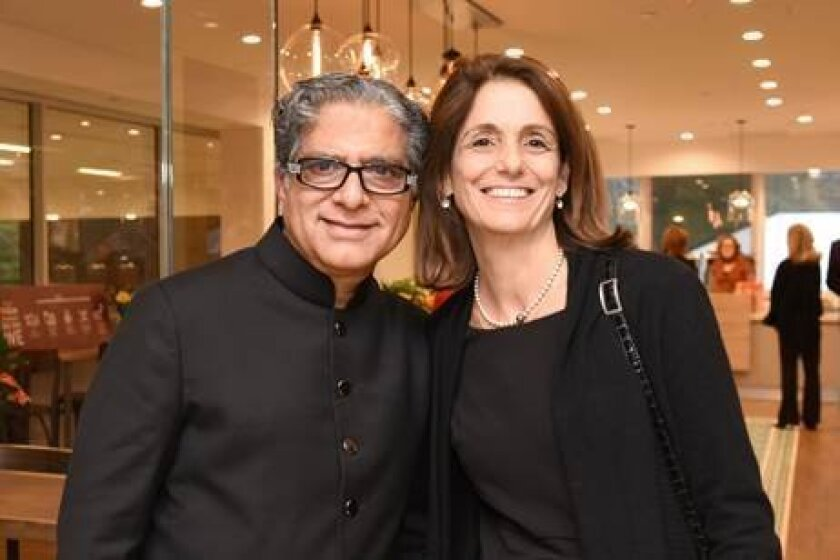Mimi Guarneri, MD, FACC (pictured at right with Deepak Chopra, MD) is ranked the No. 1 U.S. Female Integrative Medicine Physician by Newsmax Health for 2015.