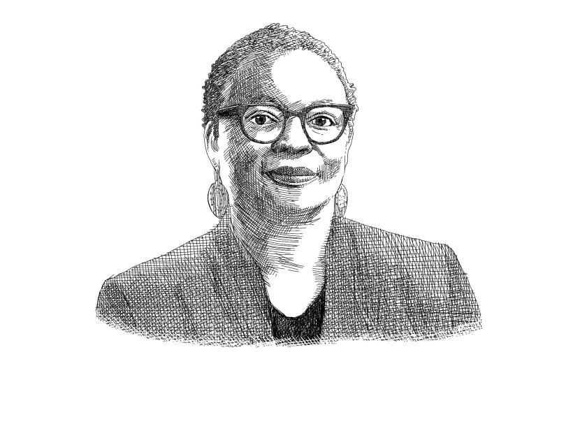 An illustration of Dr. Wilma J. Wooten, San Diego County's public health officer.