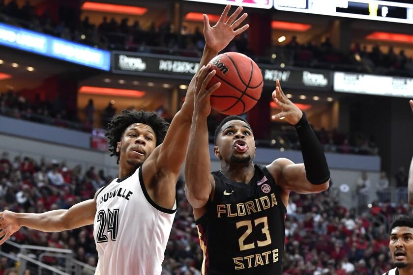 APTOPIX Florida St Louisville Basketball