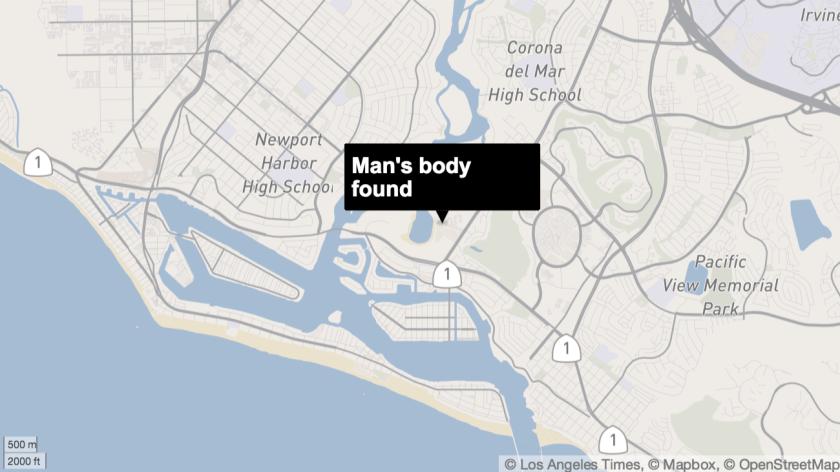 Man's body found