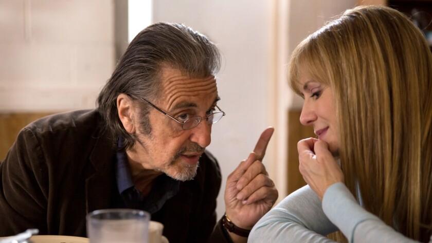"""Al Pacino and Holly Hunter in David Gordon Green's movie """"Mangelhorn."""""""