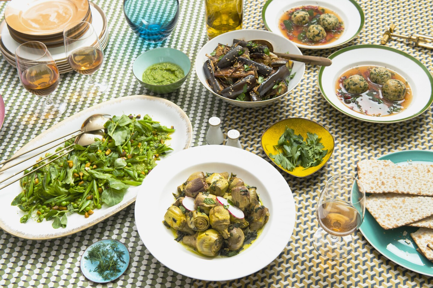 Cook's countdown for the Passover Seder meal