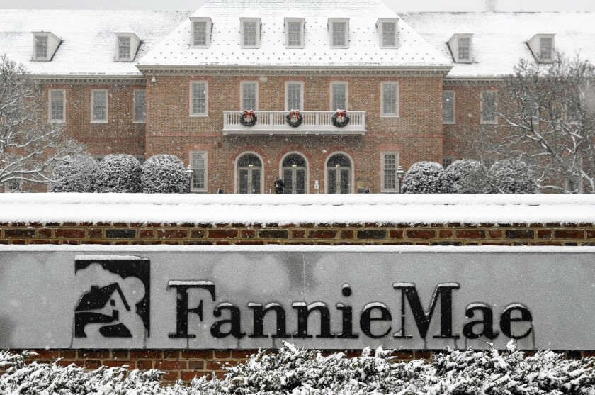 Would the Trump administration's plan for Fannie Mae and Freddie Mac raise home borrowing costs and neglect lower-income homeowners?