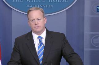 White House spokesman Sean Spicer on EPA media blackout