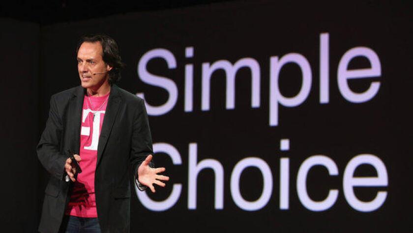 El CEO de T-Mobile, John Legere, ha liderado las medidas agresivas de la compañía para sacudir la industria inalámbrica.