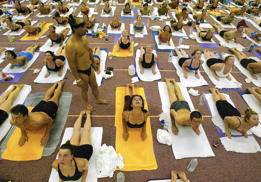 Women Claim Yoga Guru Bikram Choudhury Sexually Assaulted Them He Denies Los Angeles Times