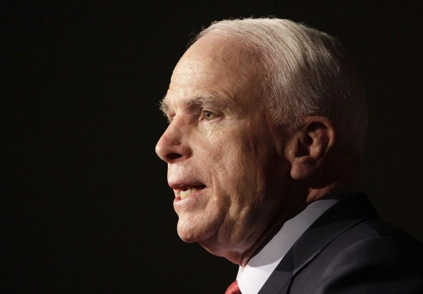 Sen. John McCain (R-Ariz.) on Thursday introduced the Television Consumer Freedom Act of 2013.