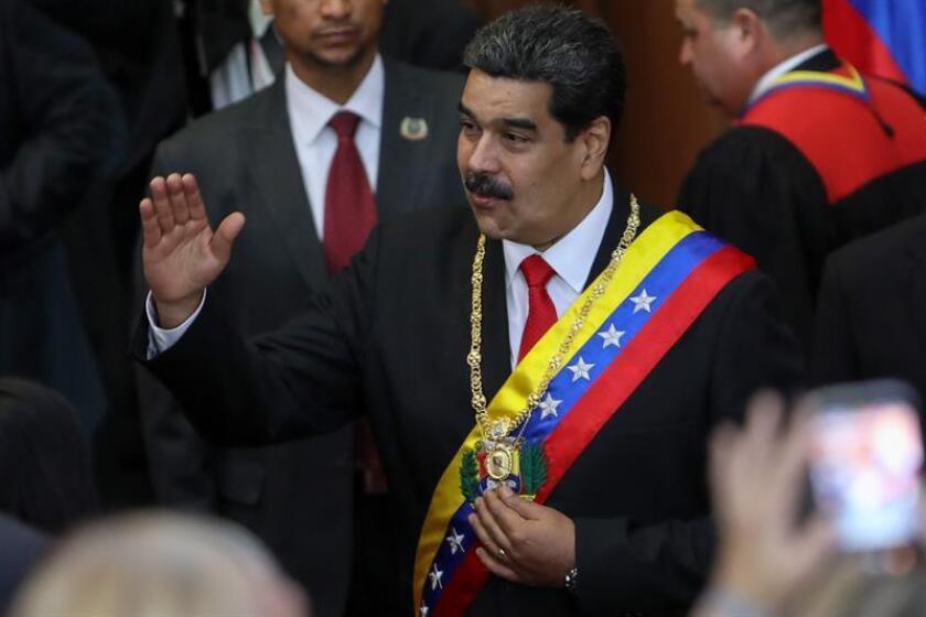 El presidente de Venezuela, Nicolás Maduro (c). EFE/Archivo
