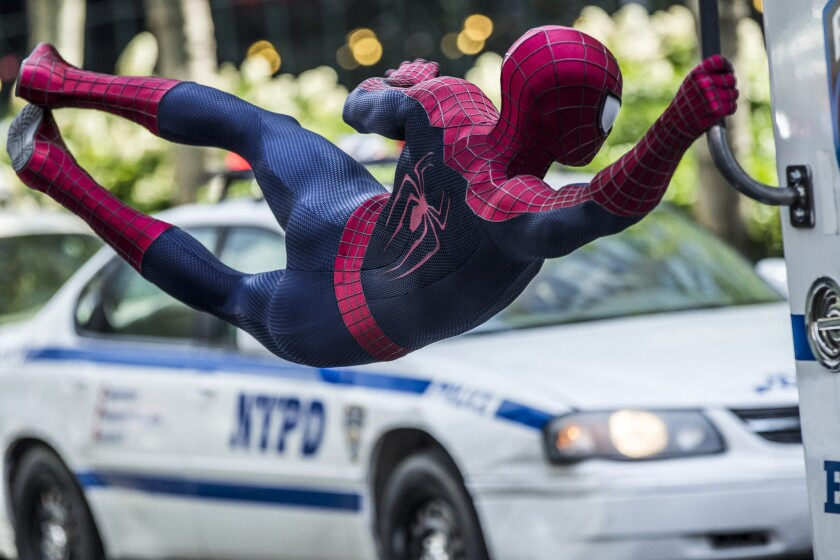 "Sony Pictures Entertainment's ""The Amazing Spider-Man 2"" has grossed more than $700 million worldwide."